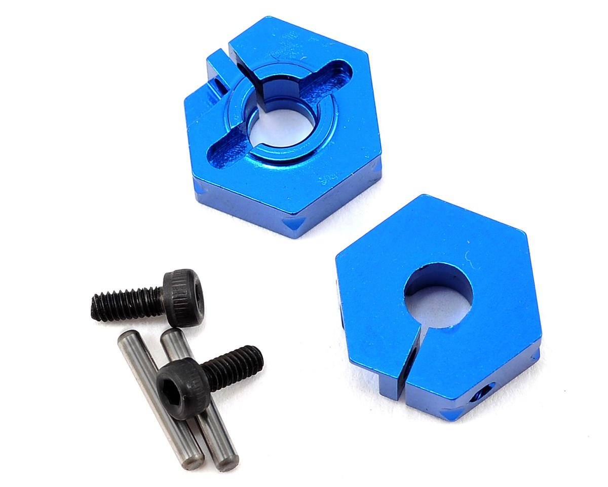 Team Associated Aluminum Clamping Front Hex (2)