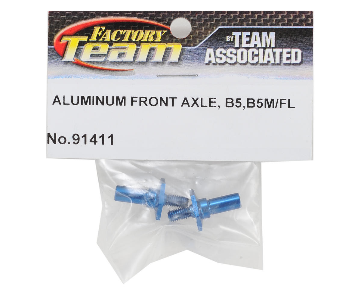 Team Associated Aluminum Front Axle Set (2)