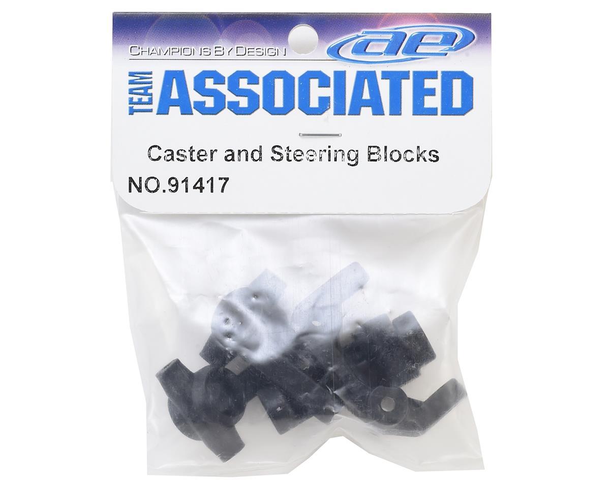 Team Associated Caster & Steering Block Set