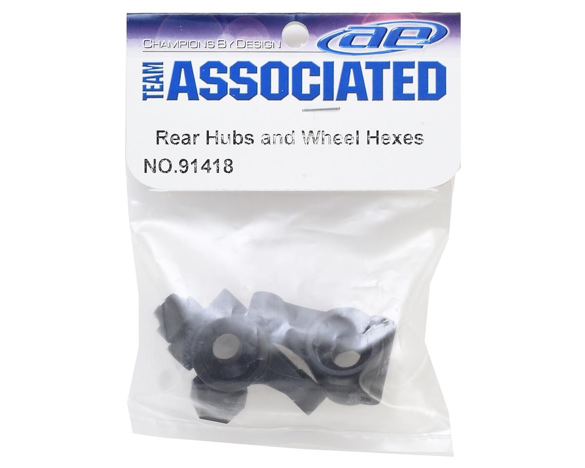Team Associated Rear Hubs w/Hexes