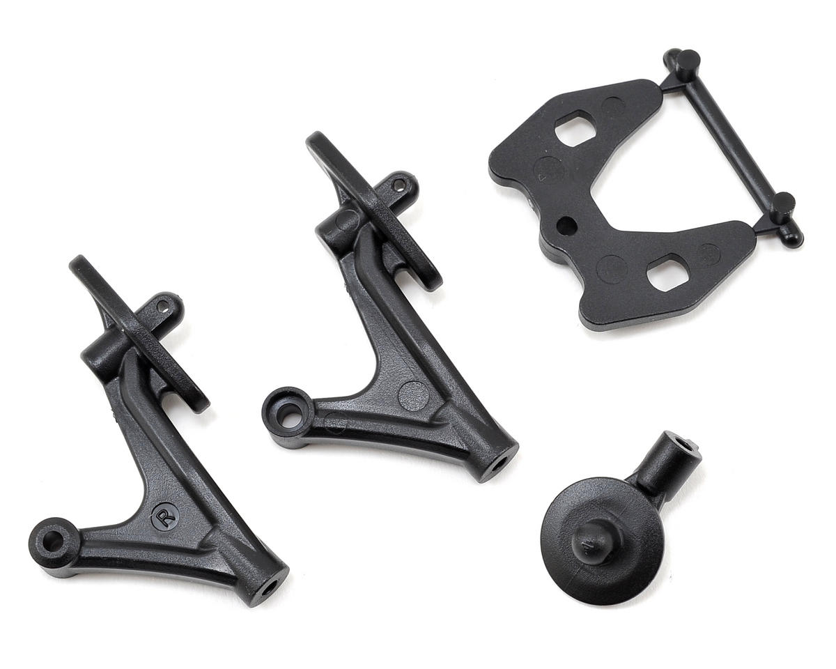 Team Associated B5 Wing & Rear Body Mount Set