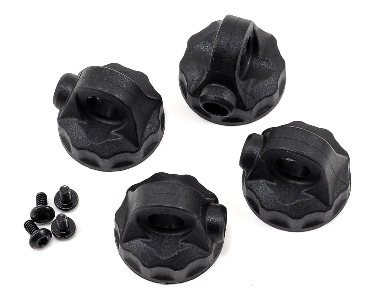 Team Associated RC10 SC5M 12mm V2 Composite Shock Cap Set