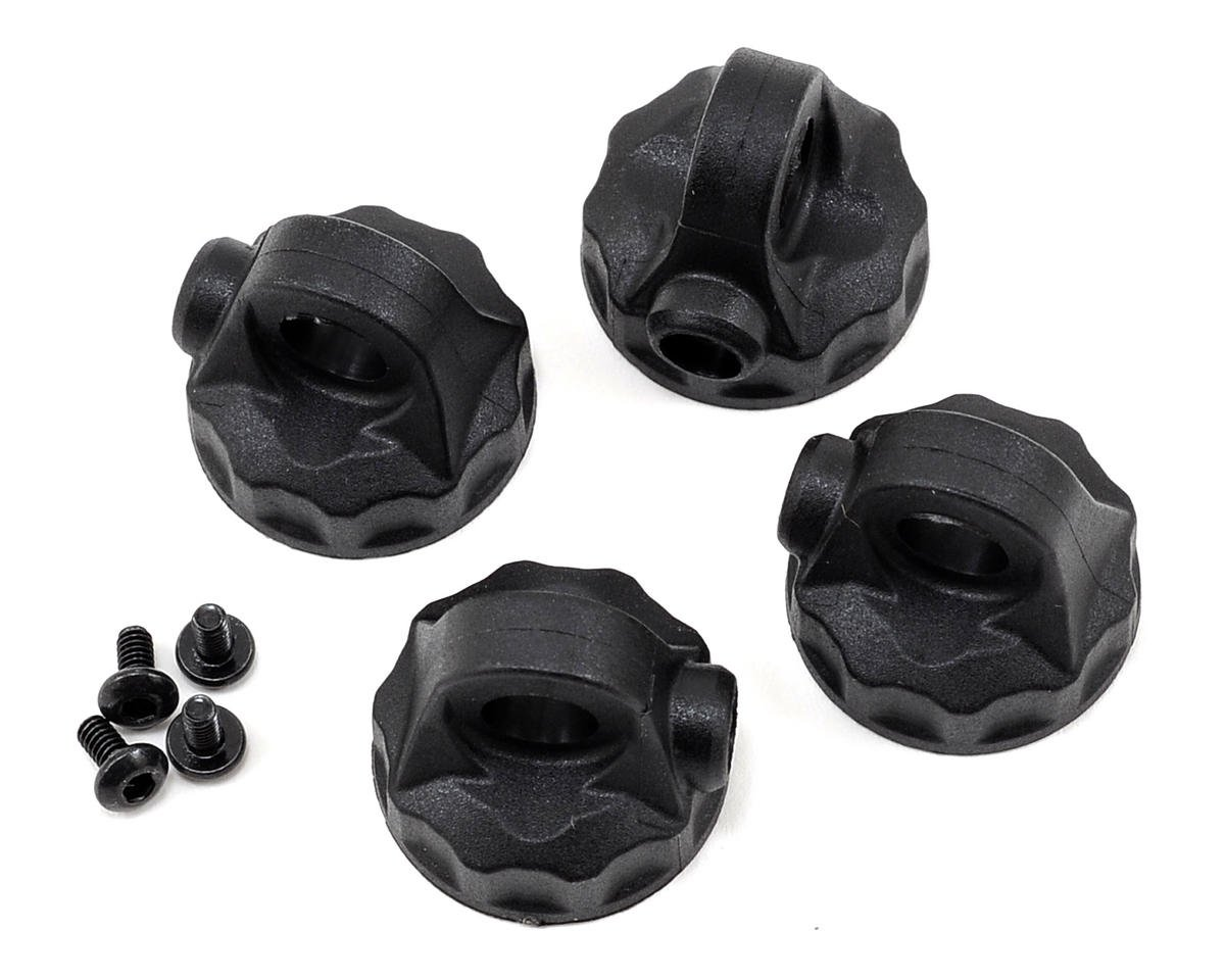 12mm V2 Composite Shock Cap Set by Team Associated