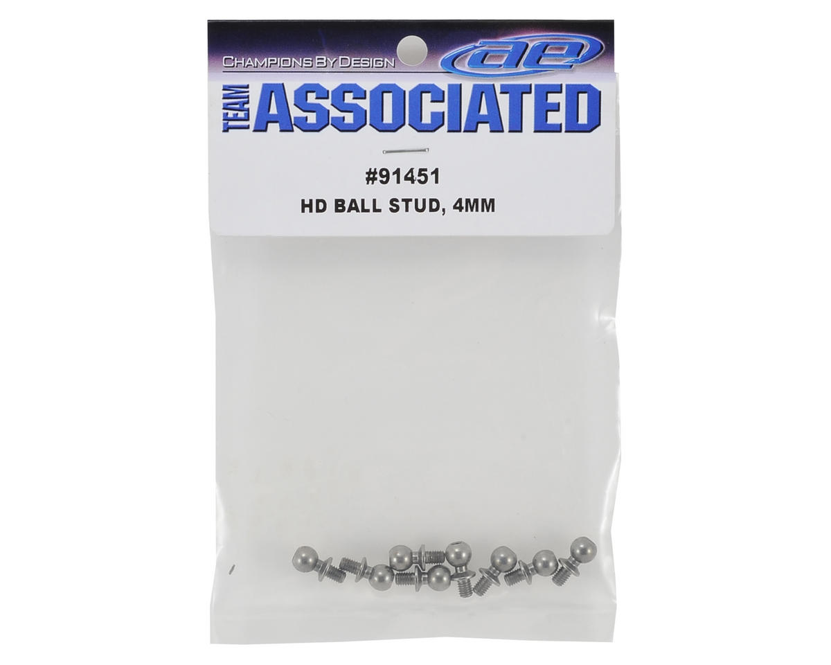 Team Associated 4mm Heavy Duty Ball Stud Set (8)