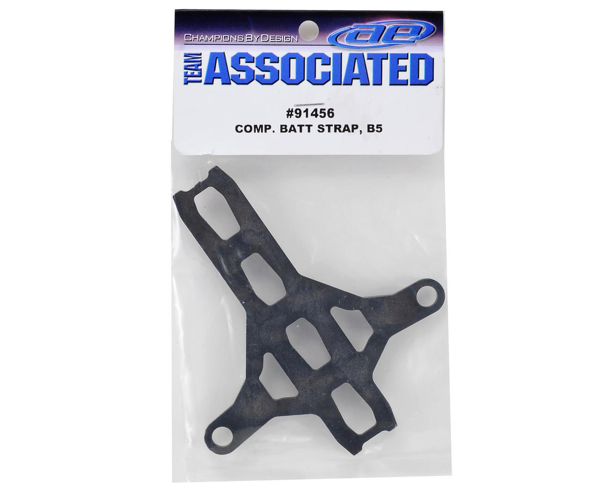 Team Associated B5 Composite Battery Strap