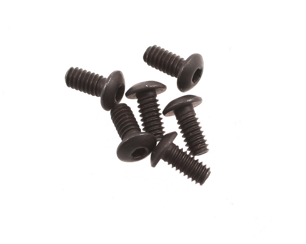 "Team Associated 2-56 x 3/16"" Button Head Screw (6) (NTC3/T4)"