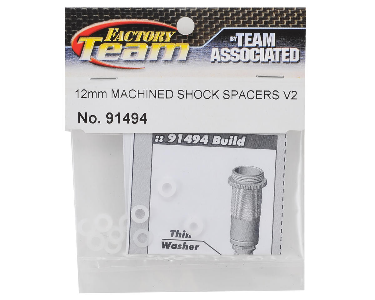 Team Associated 12mm Big Bore V2 Machined Shock Spacers