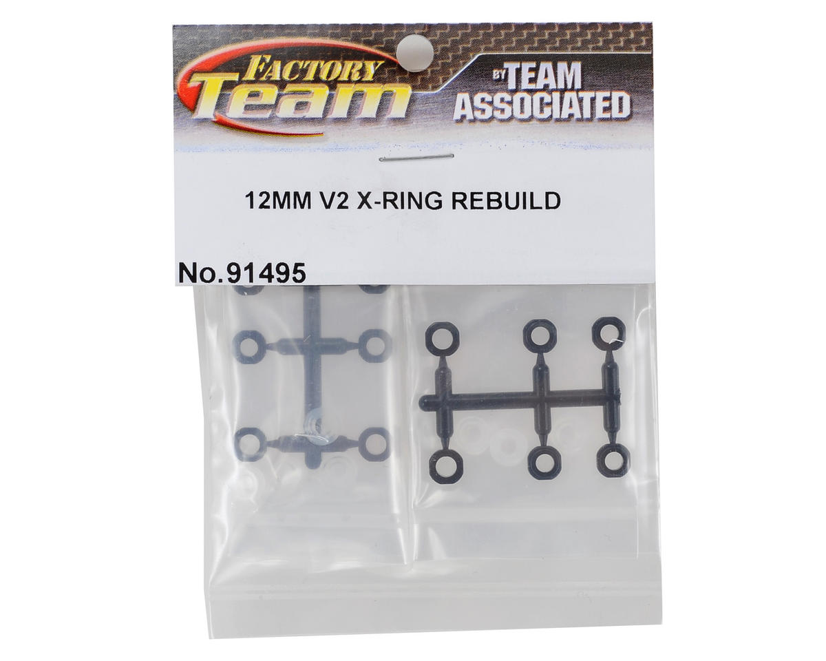 Team Associated 12mm V2 X-Ring Rebuild Kit