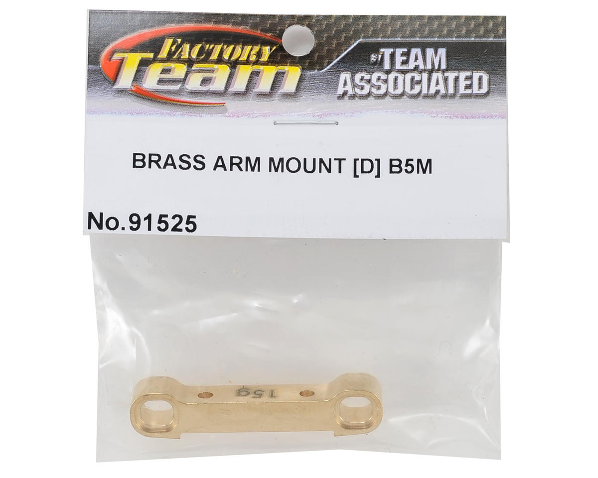 Team Associated 15g B5M Factory Team Brass Arm Mount (D)