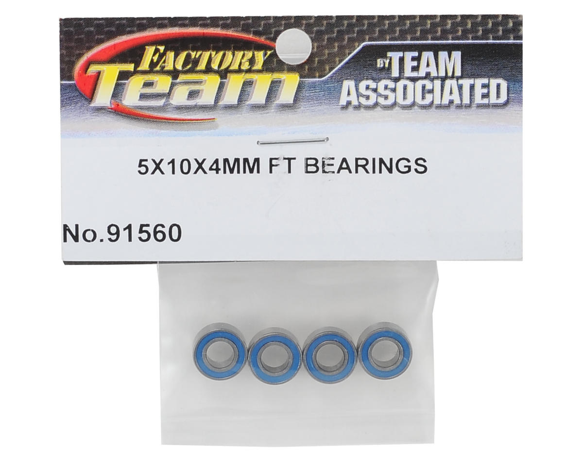 Team Associated Factory Team 5x10x4mm Bearings (4)