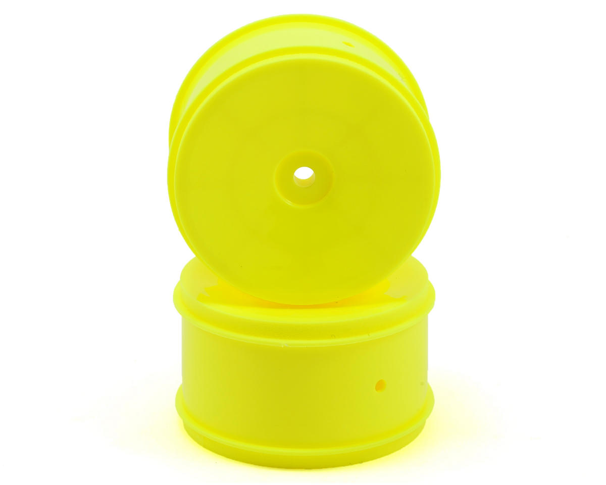 Team Associated 12mm Hex 61mm Rear Wheel (2) (Yellow)