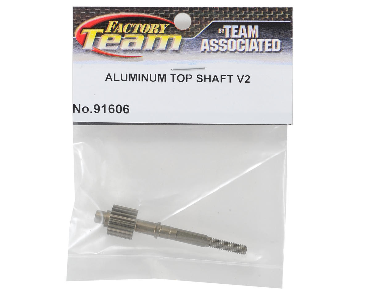 "Aluminum Factory Team ""3 Gear"" Top Shaft by Team Associated"