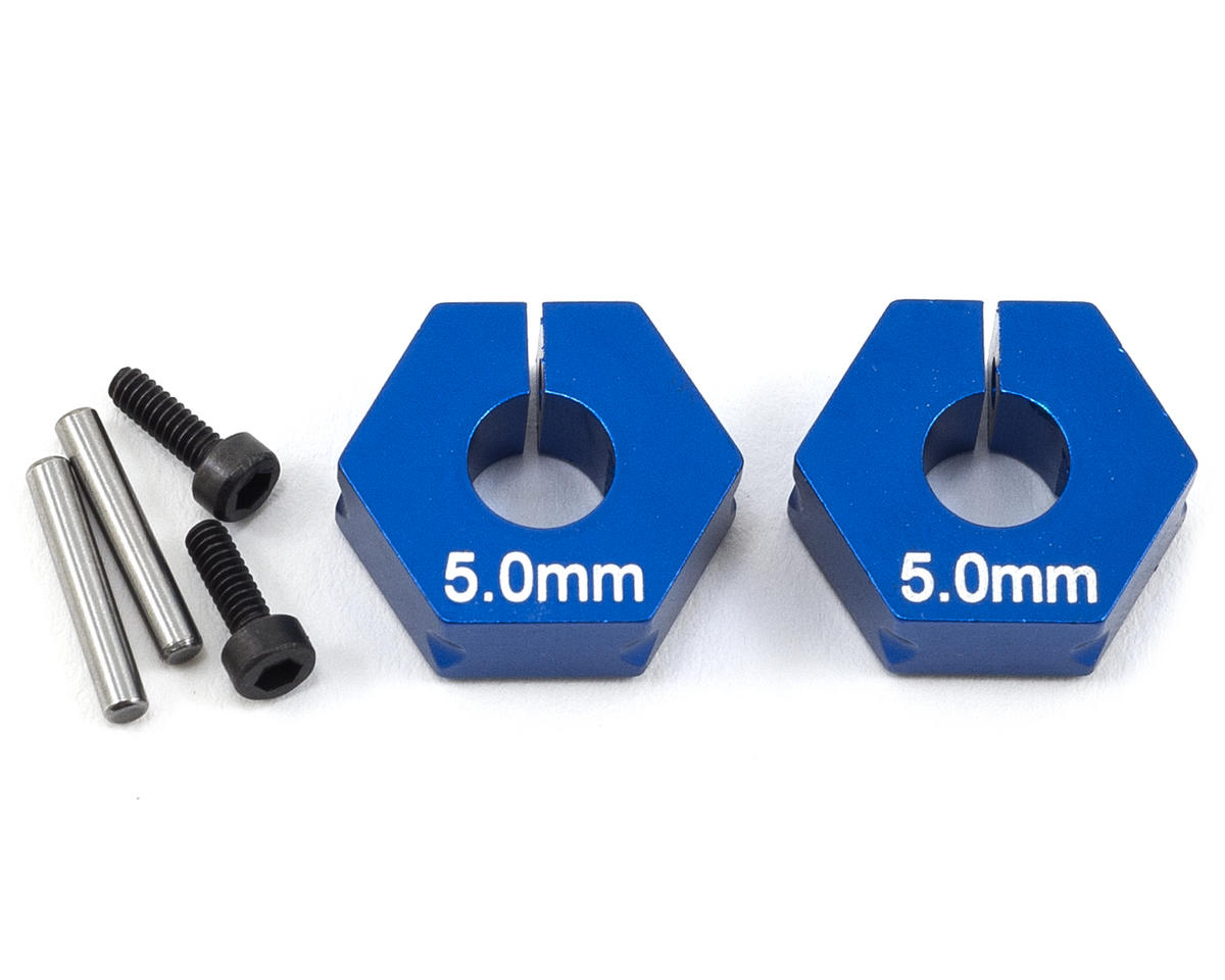 Team Associated 5.0mm Aluminum Factory Team Clamping Rear Hex (2)