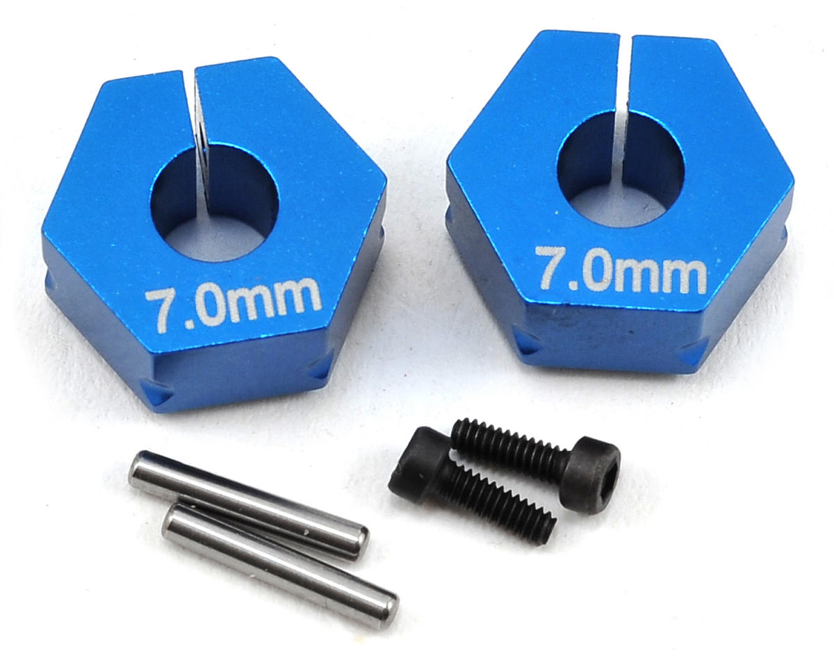 Team Associated 7.0mm Factory Team Aluminum Clamping Wheel Hex (2)