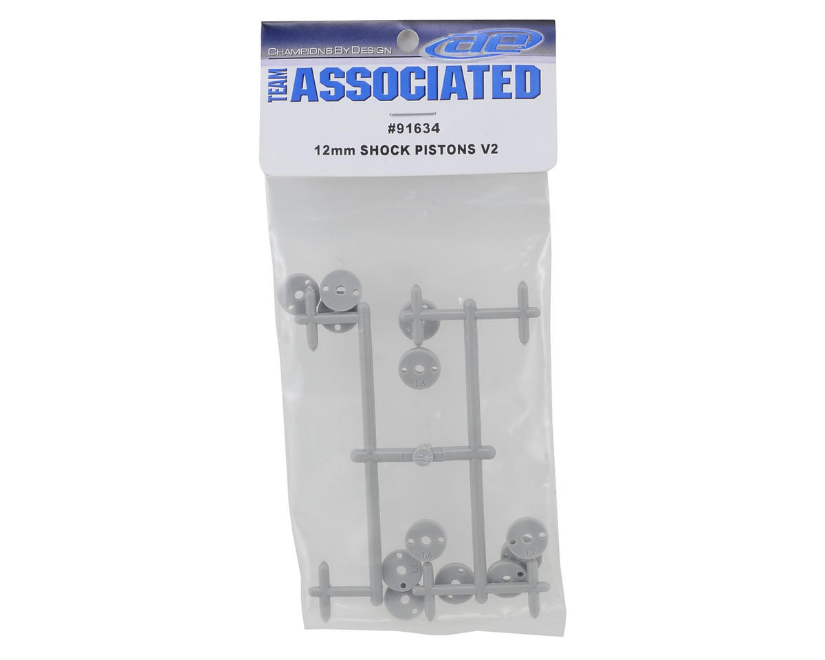 12mm Big Bore V2 Shock Piston Set by Team Associated