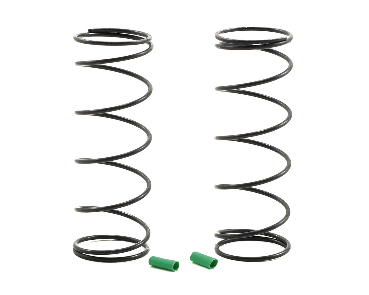 Team Associated 12mm Front Shock Spring (Green/3.75lbs) (2) (54mm Long)