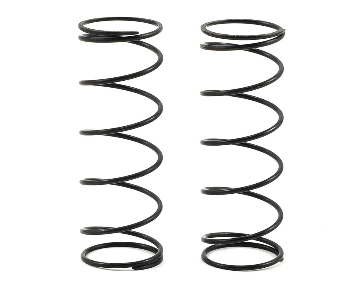 Team Associated RC10 T4.3 12mm Front Shock Spring (2) (Gray/4.45lbs) (54mm Long)