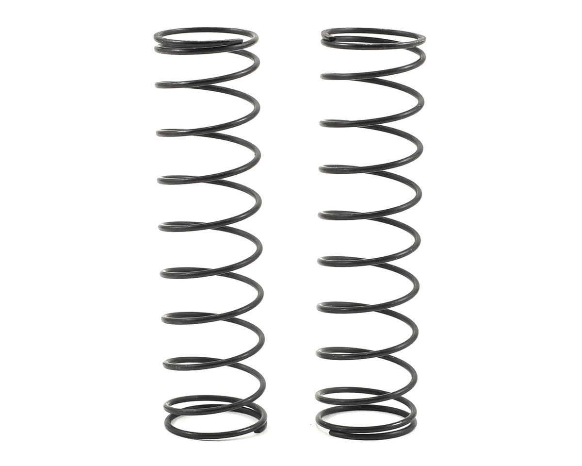 Team Associated 12mm Rear Shock Spring (2) (White/2.40lbs) (72mm Long)