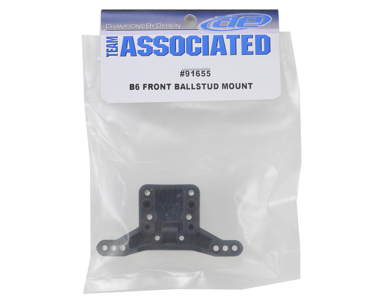 B6 Front Ballstud Mount by Team Associated