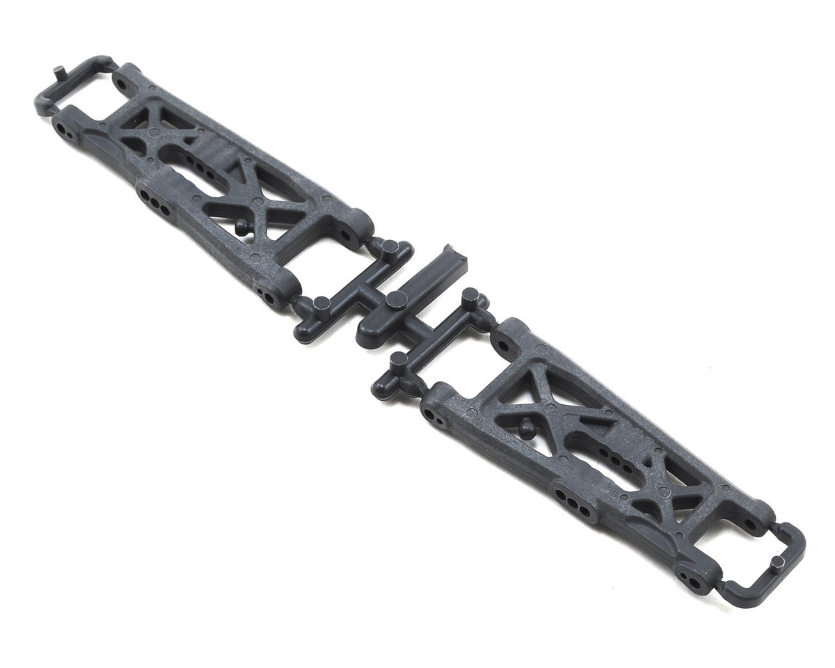 "Team Associated B6 ""Flat"" Front Arms (Hard)"