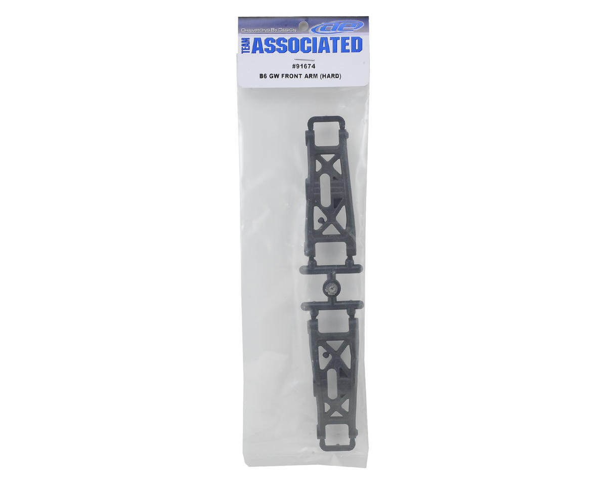 "Team Associated B6D ""Gullwing"" Front Arms (Hard)"