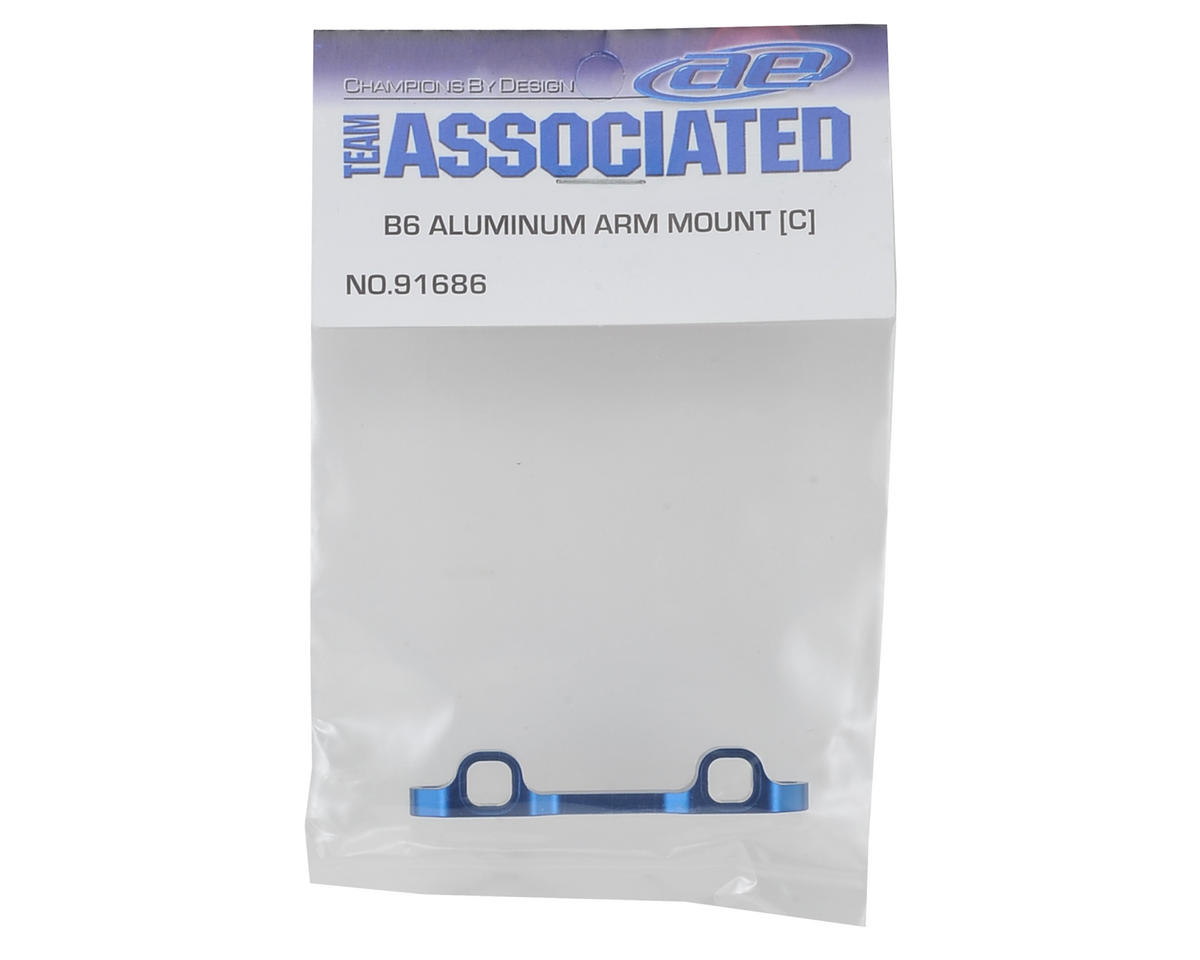 "Team Associated B6 Aluminum ""C"" Arm Mount"