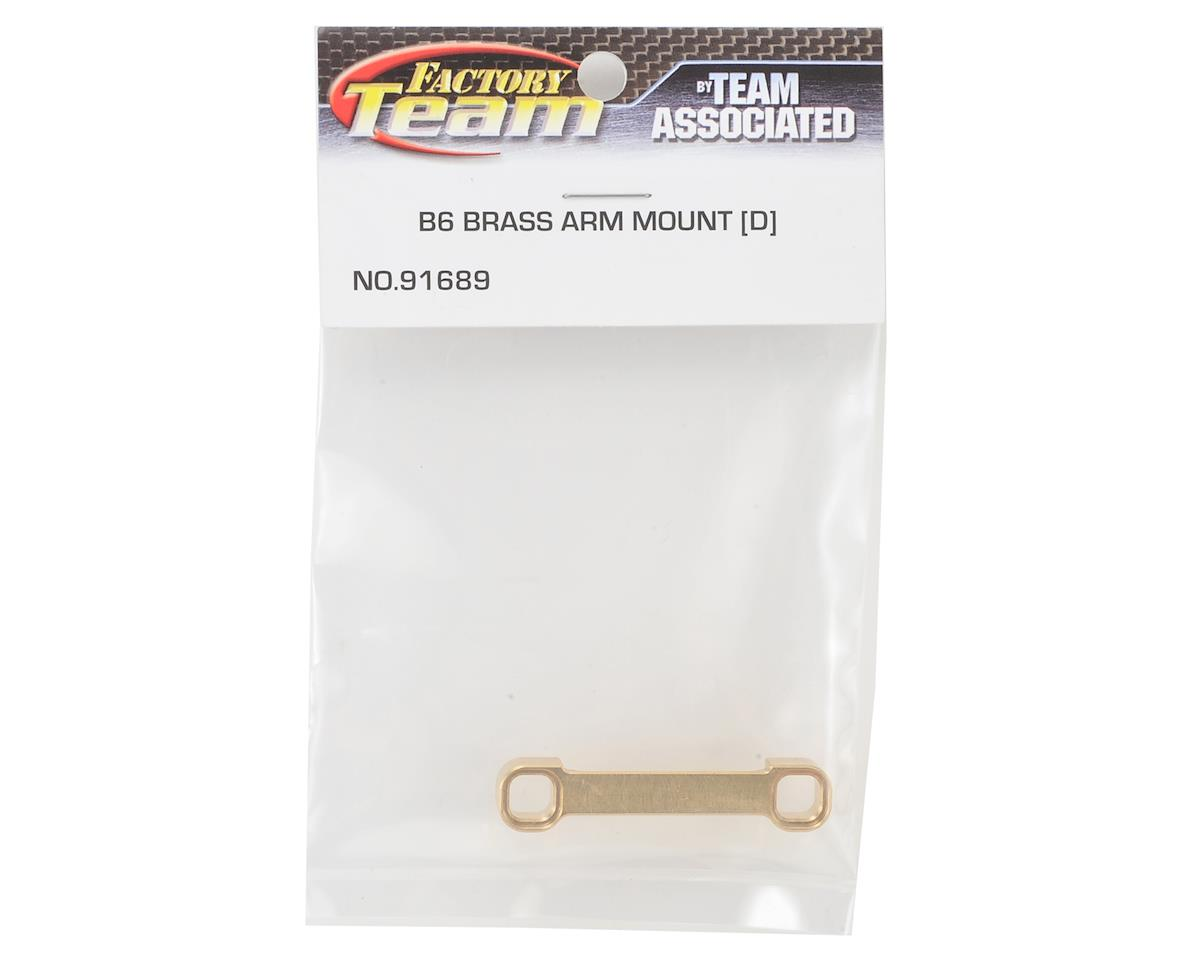 "Team Associated Factory Team B6/B6D Brass ""D"" Arm Mount (12g)"