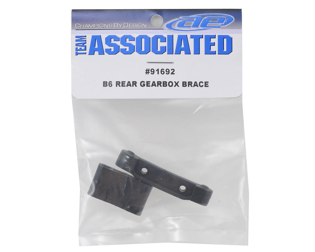 Team Associated B6 Rear Gearbox Brace & Arm Mount Set