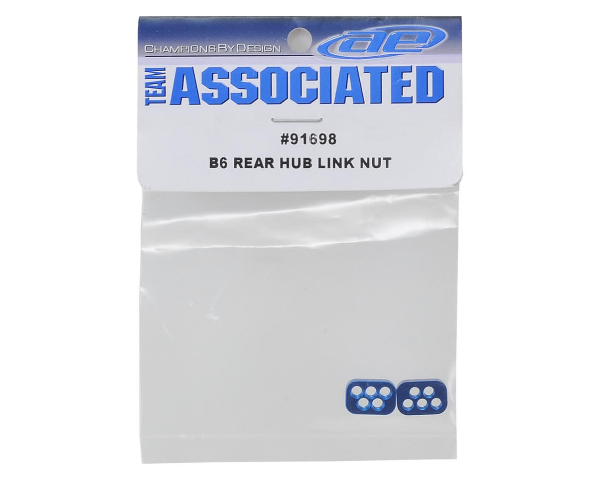 Team Associated B6 Rear Hub Link Nuts