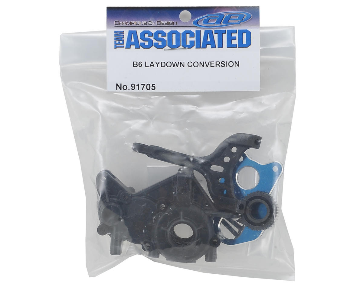 Team Associated B6D Laydown Transmission Conversion