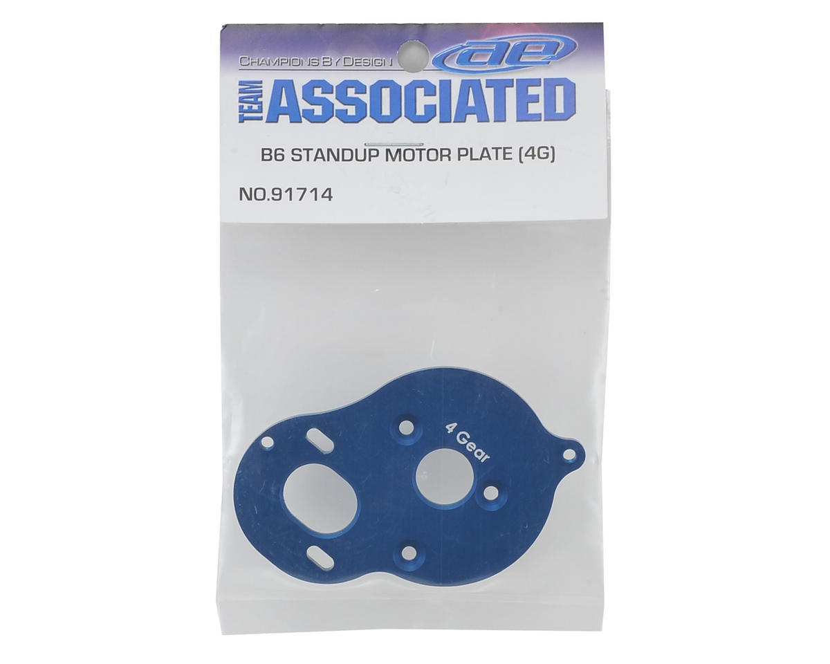 "Team Associated B6D Standup ""4 Gear"" Motor Plate"