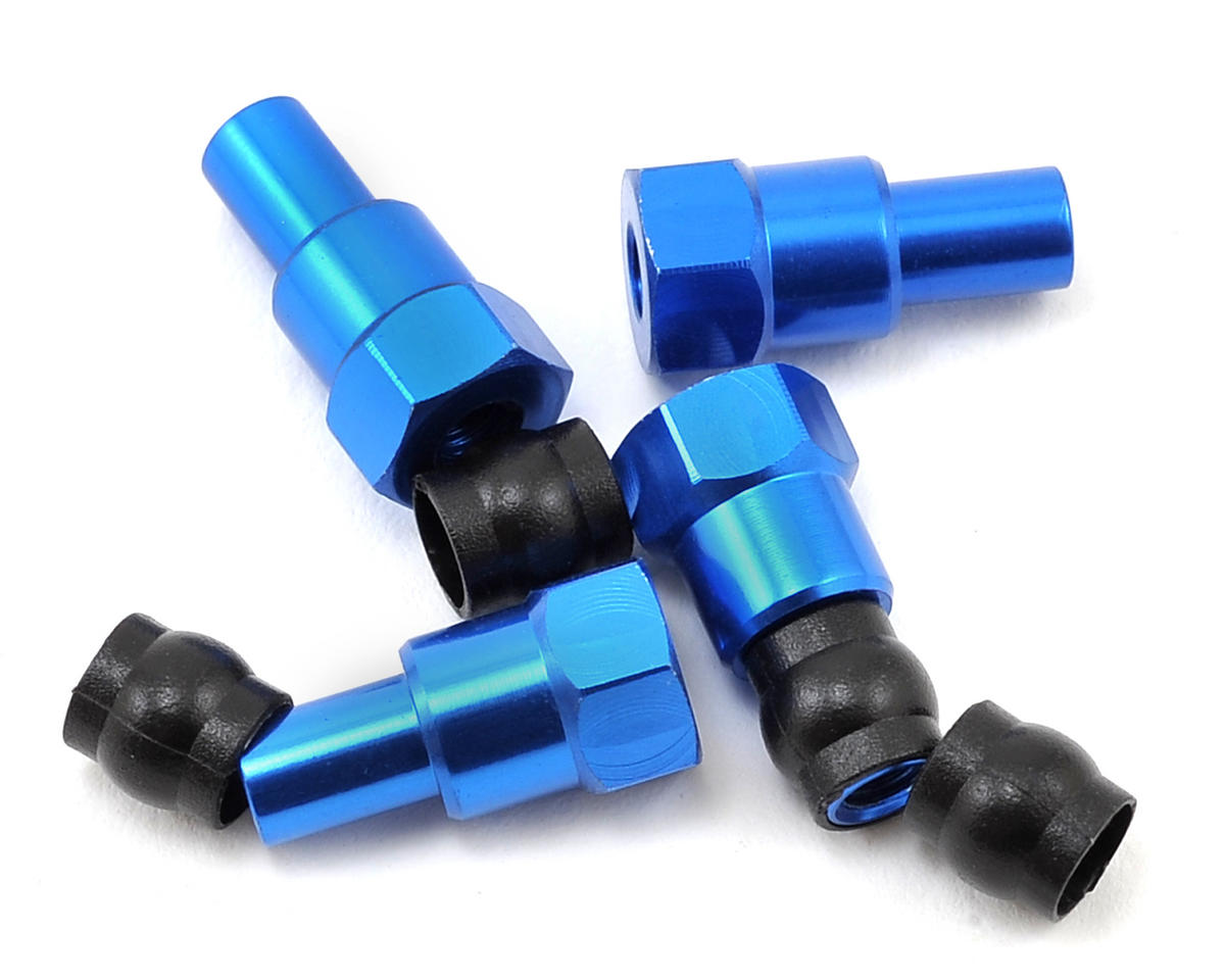 B6 Long Shock Bushings by Team Associated