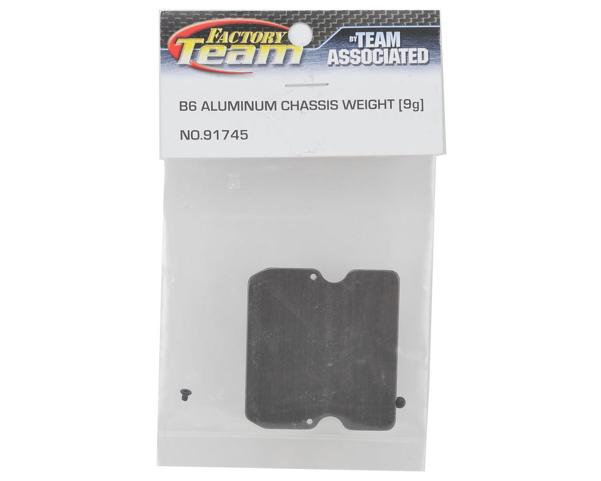 B6 Aluminum Chassis Weight (9g) by Team Associated