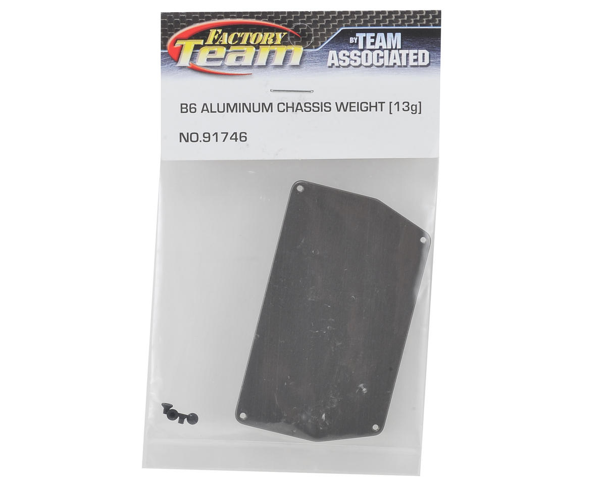 Team Associated B6 Aluminum Chassis Weight (13g)