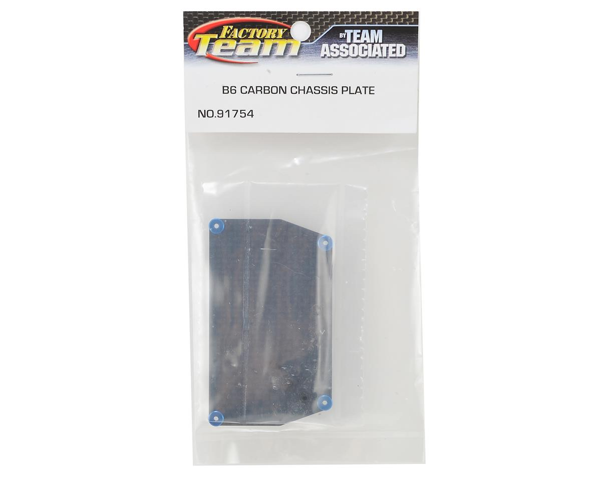 Team Associated B6 Factory Team Graphite ESC Plate (7.5g)