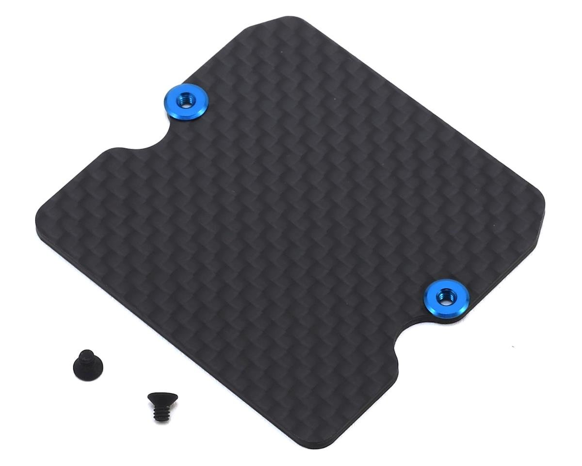 Team Associated B6 Factory Team Graphite Servo Chassis Plate (5g)