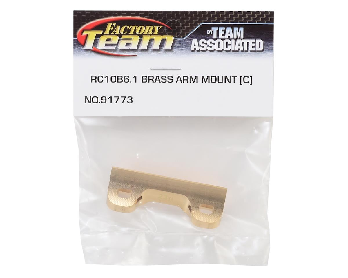 """Image 2 for Team Associated B6.1/B6.1D Factory Team Brass """"C"""" Mount (23g)"""
