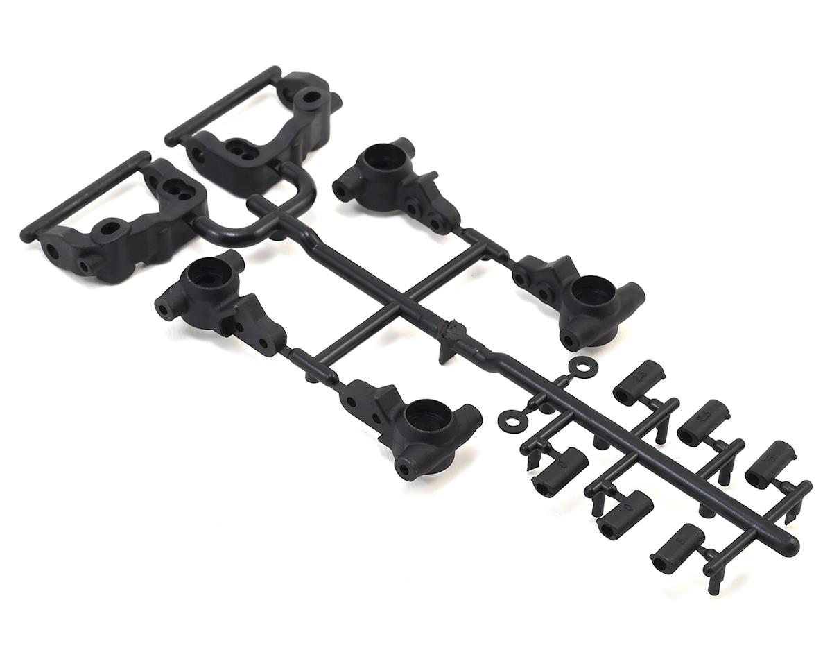 B6.1/B6.1D Caster & Steering Block Set by Team Associated