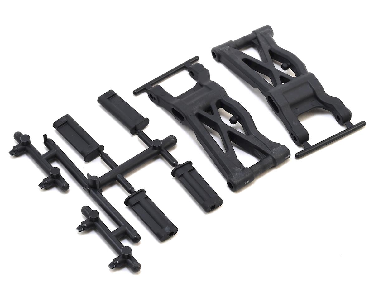 Team Associated RC10 B6.1 Factory Lite B6.1/B6.1D Rear Suspension Arms (Hard)