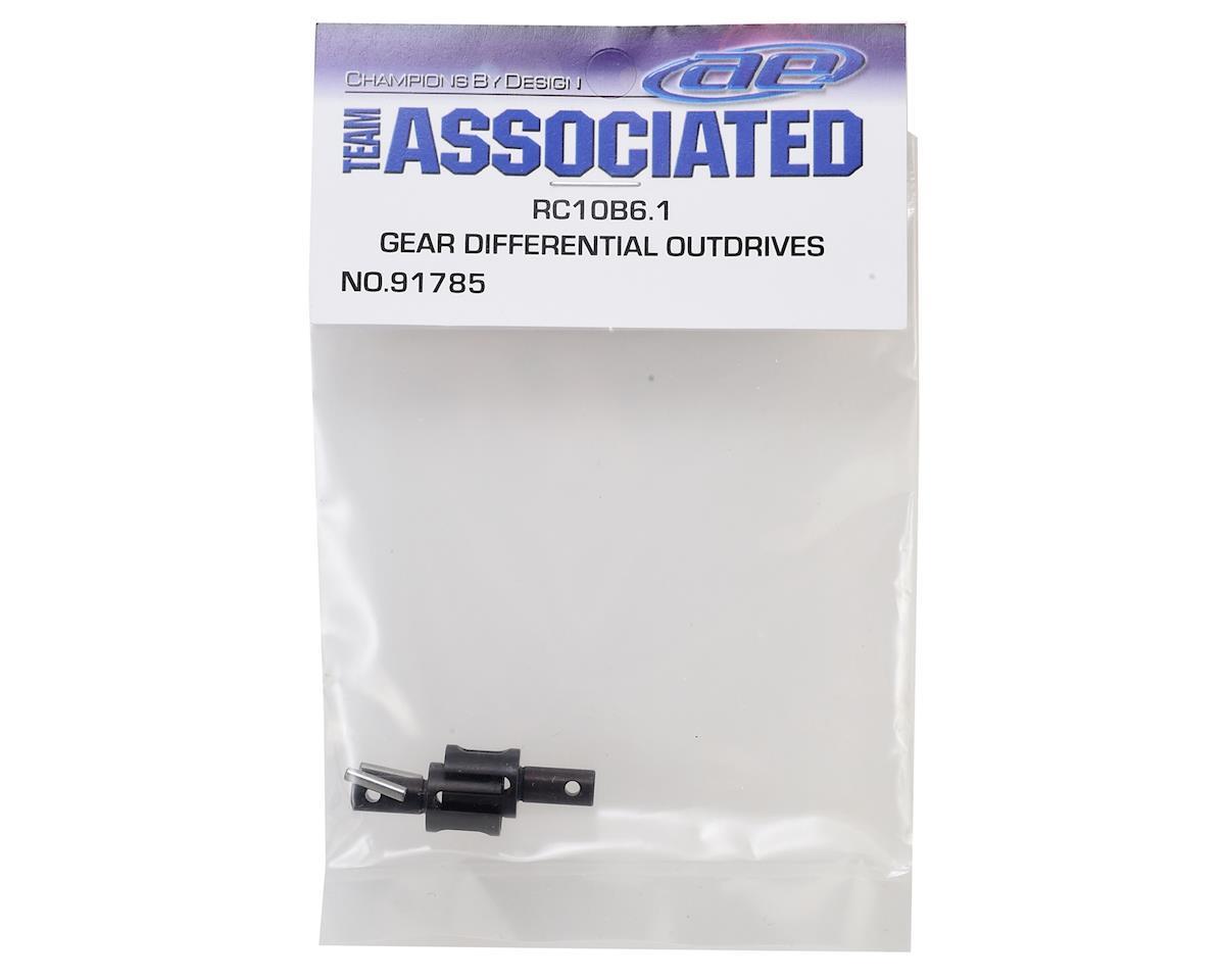 Team Associated B6.1/B6.1D Gear Differential Outdrives