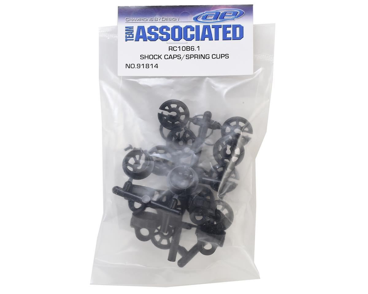 Team Associated B6.1/B6.1D Shock Caps & Spring Cups