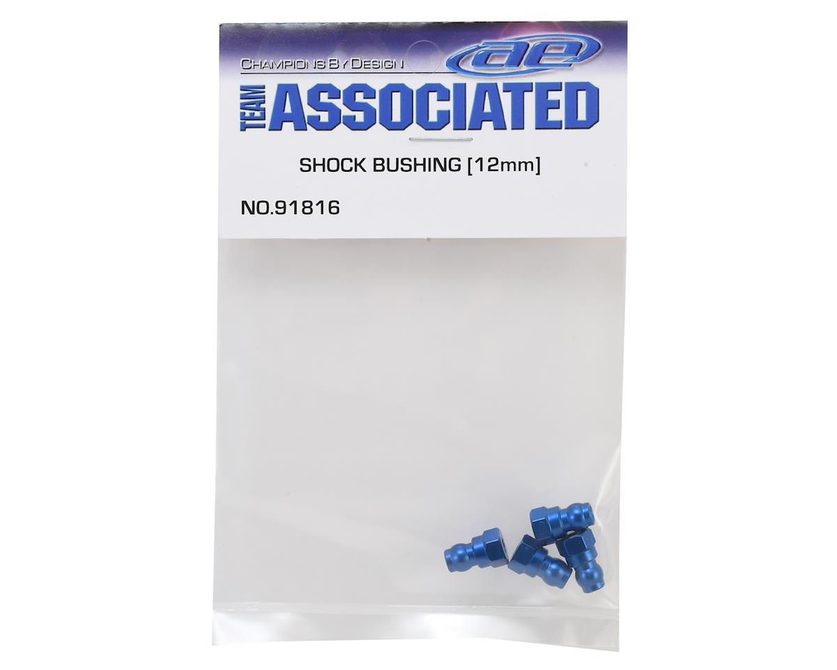 Team Associated 12mm Aluminum Shock Bushings (Blue)
