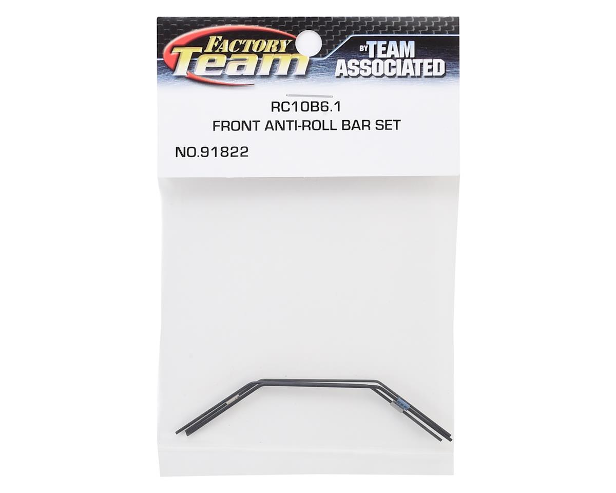 Team Associated B6.1/B6.1D FT Front Anti-roll Bar Set