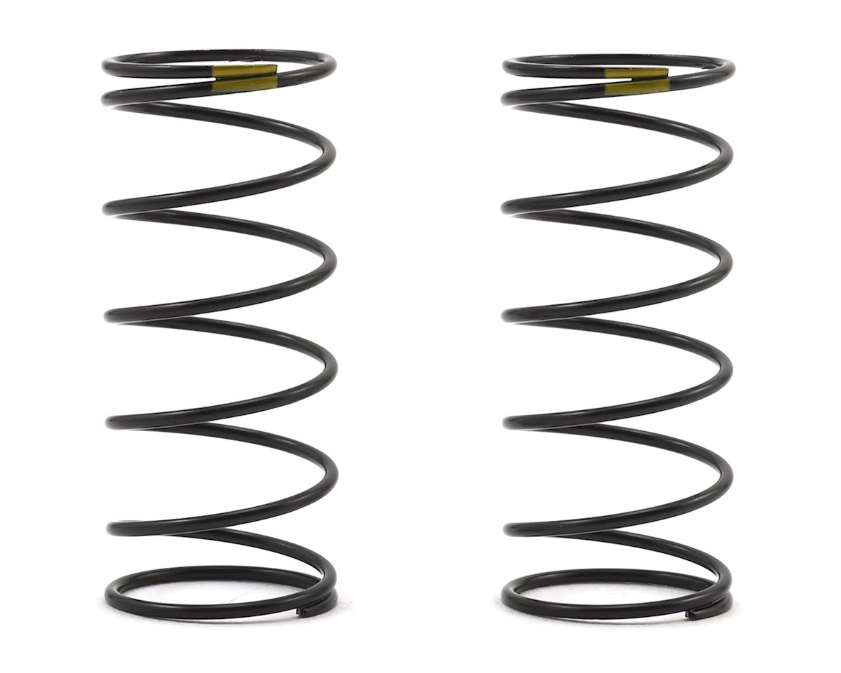 Team Associated 12mm Front Shock Spring (2) (Yellow/4.30lbs) (44mm Long)