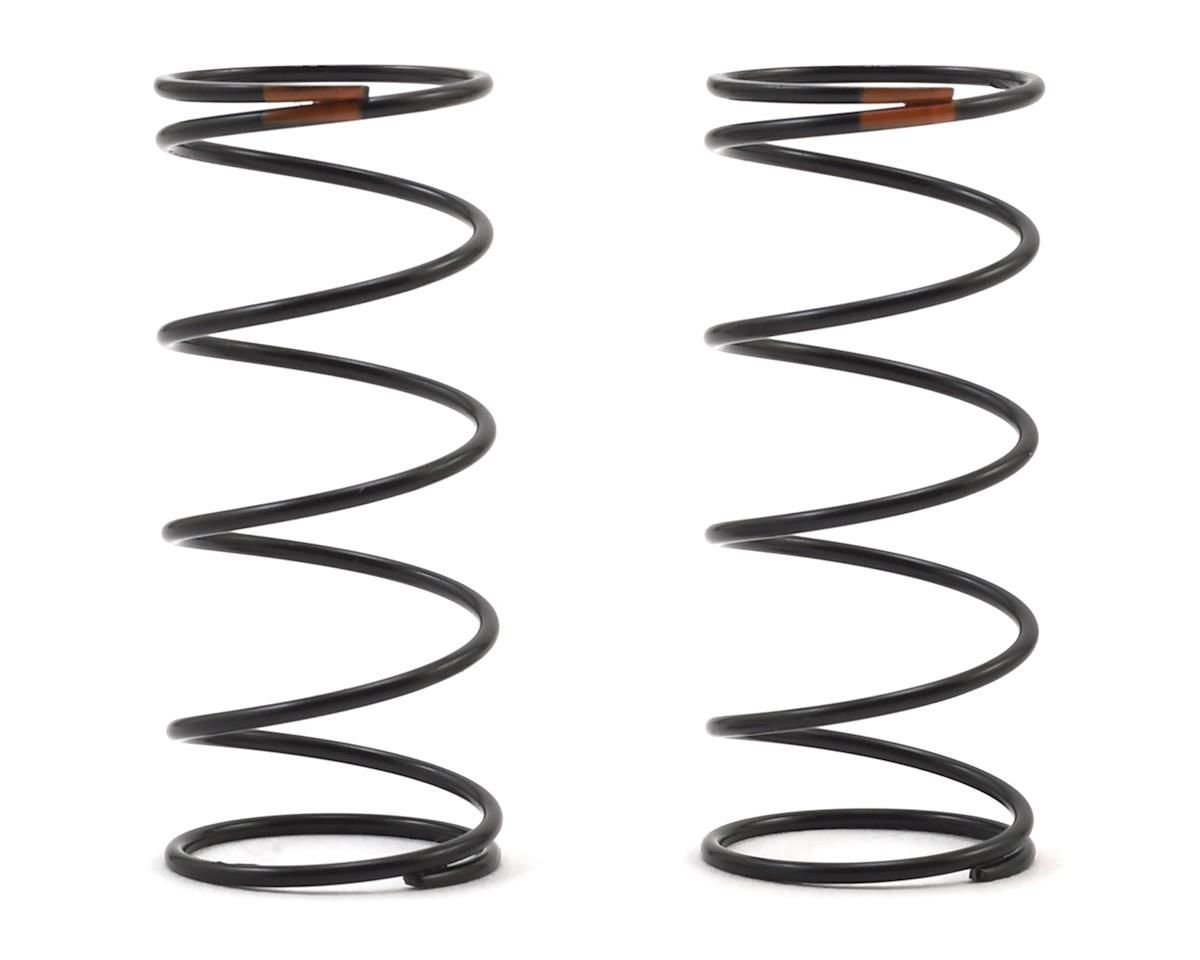 Team Associated 12mm Front Shock Spring (2) (Orange/5.10lbs) (44mm Long)