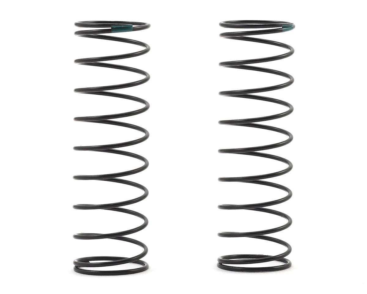 Team Associated 12mm Rear Shock Spring (2) (Green/1.80lbs) (61mm Long)