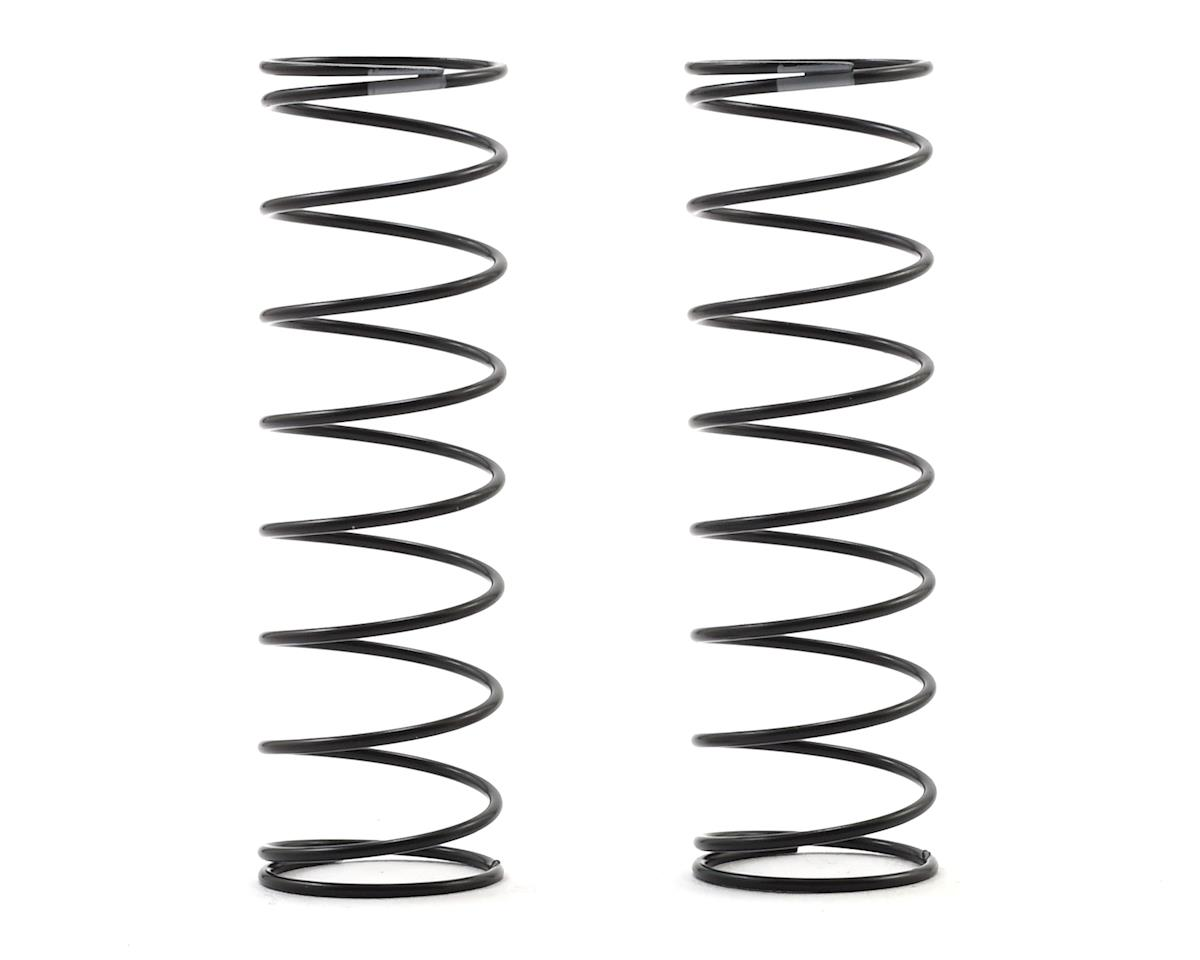 Team Associated 12mm Rear Shock Spring (2) (Gray/2.0lbs) (61mm Long)