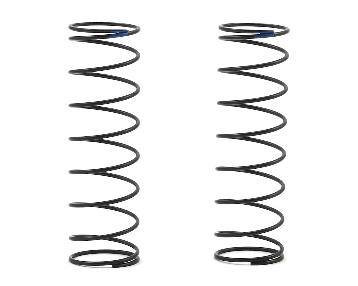 Team Associated 12mm Rear Shock Spring (2) (Blue/2.20lbs) (61mm Long)