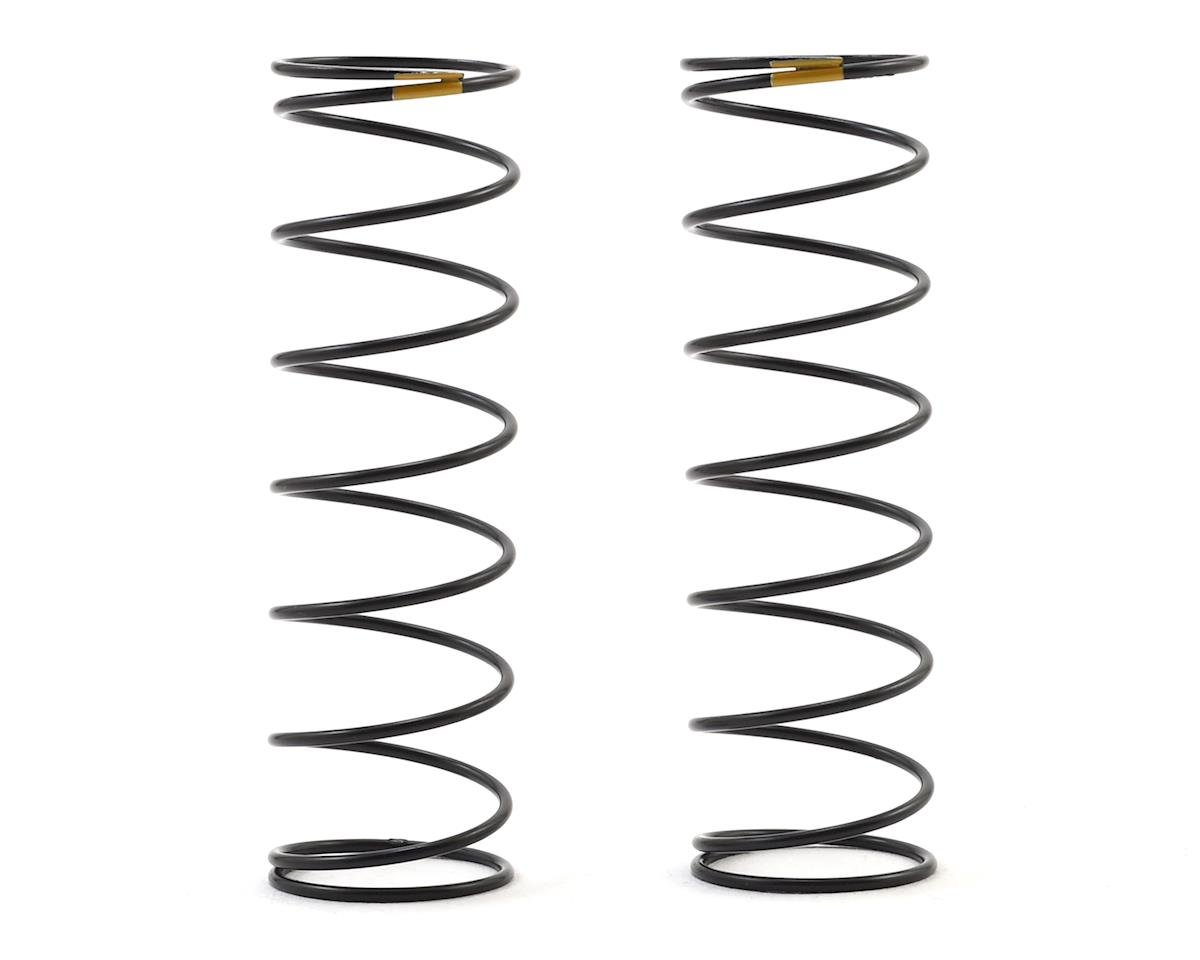 Team Associated 12mm Rear Shock Spring (2) (Yellow/2.30lbs) (61mm Long)