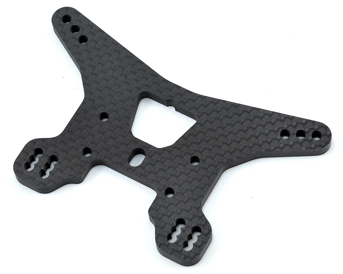 Team Associated B64 Carbon Fiber Rear Shock Tower (Long)